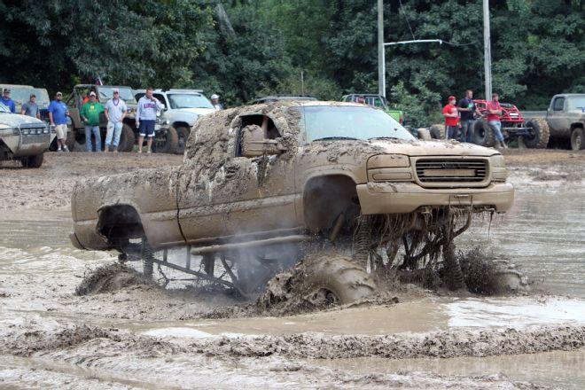 Source: Party Gras 2015! Trucks Gone Wild mud mayhem at Brick's Off