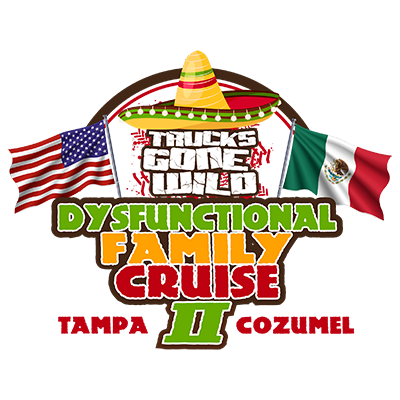 OCT. 1-5, 2020 - TGW Dysfunctional Family Cruise to Cozumel Mexico