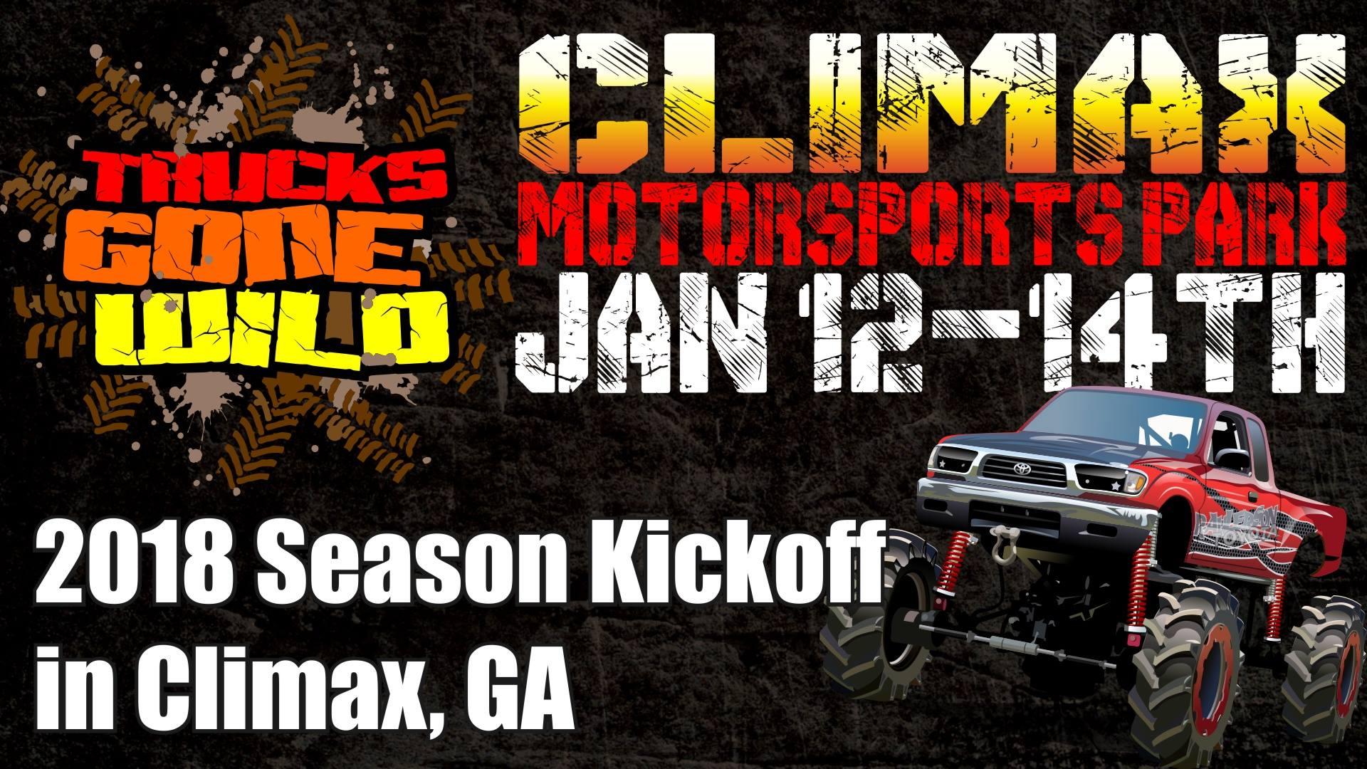 Trucks Gone Wild Returns to Climax Motorsports Park Jan. 12-14, 2018