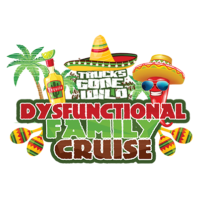 OCT. 3-7, 2019 - TGW Dysfunctional Family Cruise to Cozumel Mexico